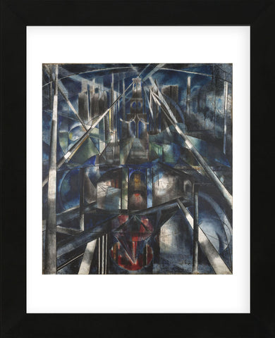 Brooklyn Bridge, 1919-20 (Framed) -  Joseph Stella - McGaw Graphics