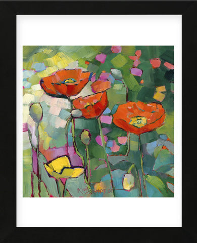 Poppies Galore (Framed) -  Karen Mathison Schmidt - McGaw Graphics