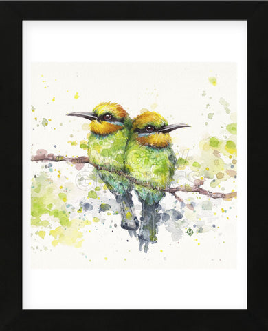 Family (Rainbow Bee Eaters) (Framed) -  Sillier than Sally - McGaw Graphics
