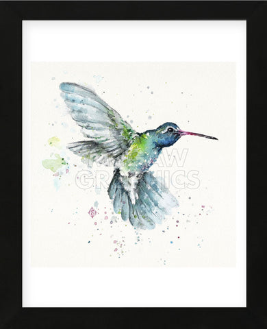 Hummingbird Flurry (Framed) -  Sillier than Sally - McGaw Graphics