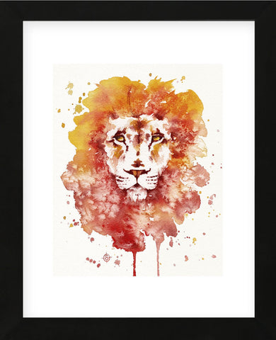 Pride (Watercolor Lion) (Framed) -  Sillier than Sally - McGaw Graphics
