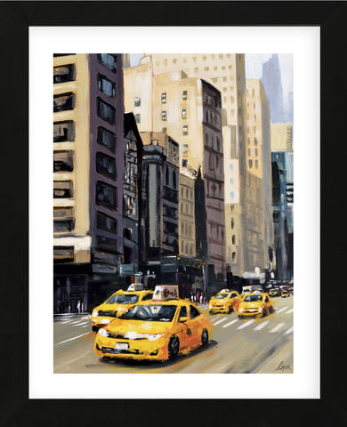 New York Taxi 1 (Framed) -  Robert Seguin - McGaw Graphics