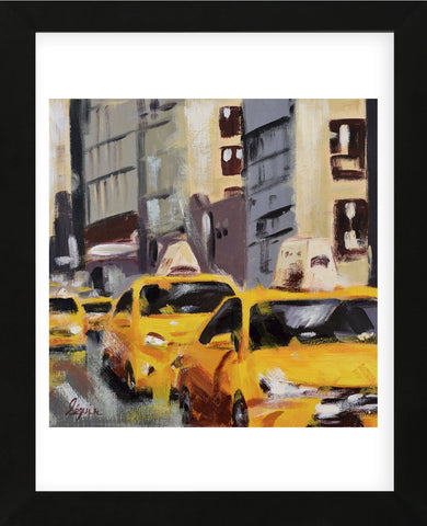 New York Taxi 6 (Framed) -  Robert Seguin - McGaw Graphics