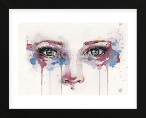 Eyes (Realistic Portrait Of Eyes) (Framed) -  Sillier than Sally - McGaw Graphics