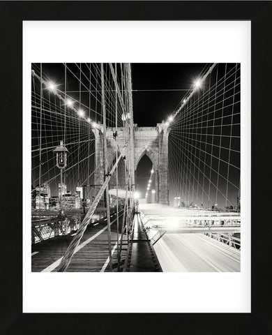 Brooklyn Bridge, Study 1, New York City, 2013 (Framed) -  Marcin Stawiarz - McGaw Graphics