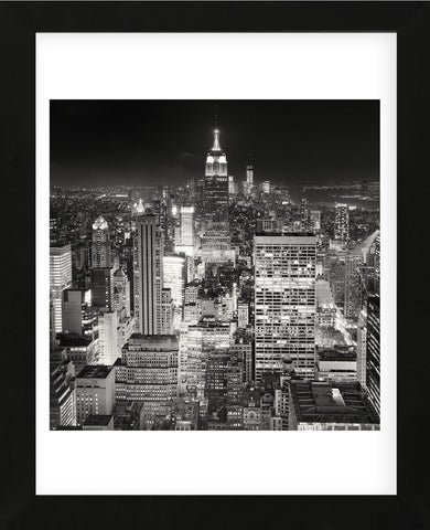 Midtown Manhattan, Study 2, New York City, 2013 (Framed) -  Marcin Stawiarz - McGaw Graphics