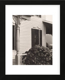 House and Grape Leaves, 1934 (Framed) -  Alfred Stieglitz - McGaw Graphics