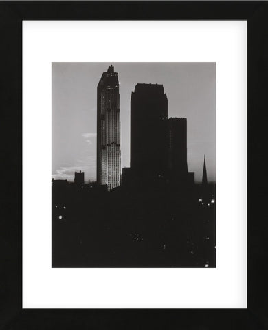 From the Shelton, Looking West, 1935–36 (Framed) -  Alfred Stieglitz - McGaw Graphics