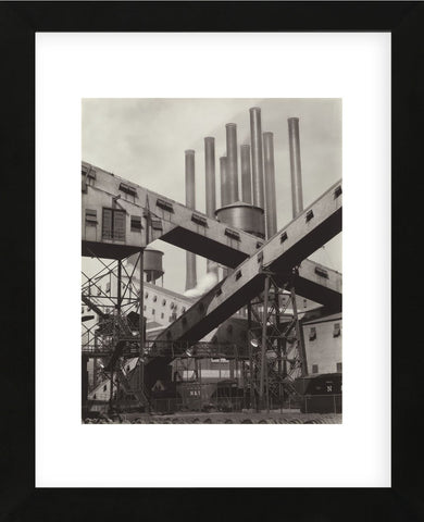 Charles Sheeler - Criss-Crossed Conveyors - Ford Plant, 1927