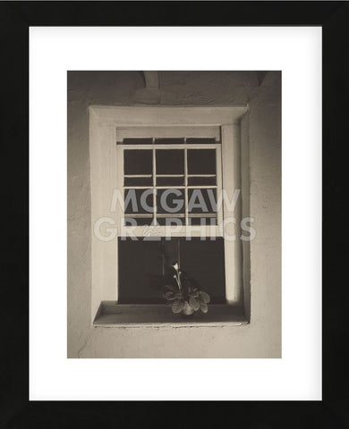 Doylestown House, Open Window, Negative about 1917 (Framed) -  Charles Sheeler - McGaw Graphics