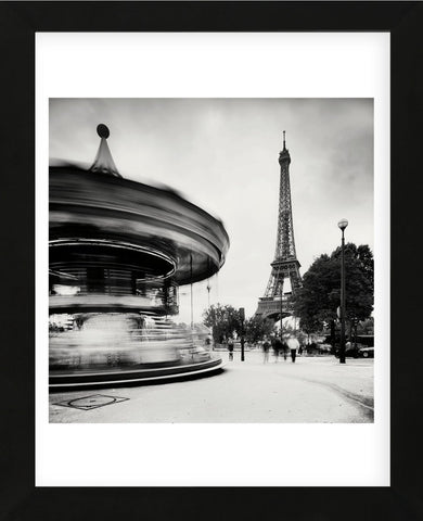 Merry Go Round, Study 1, Paris, France (Framed) -  Marcin Stawiarz - McGaw Graphics