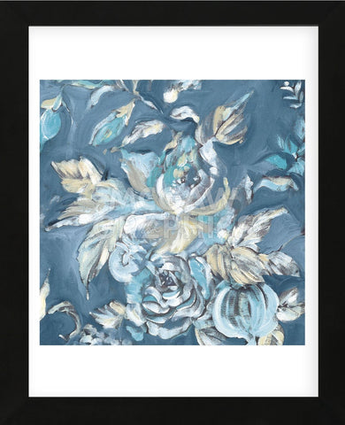 Blue Rose (Framed) -  Stacey Wolf - McGaw Graphics