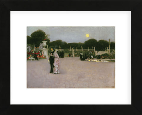 In the Luxembourg Gardens, 1879 (Framed) -  John Singer Sargent - McGaw Graphics