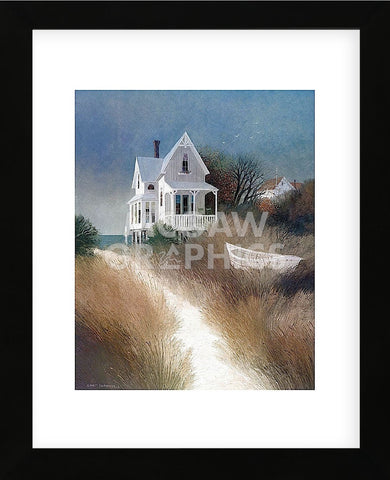 Sand Path (Framed) -  Albert Swayhoover - McGaw Graphics