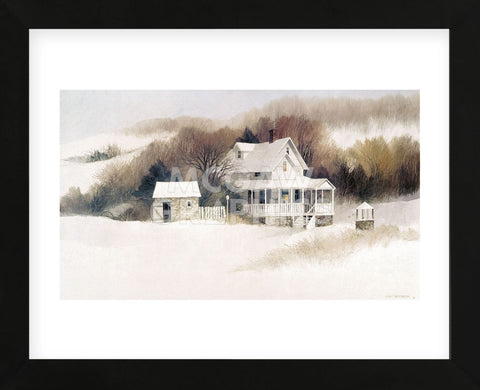 Beckett Farm  (Framed) -  Albert Swayhoover - McGaw Graphics