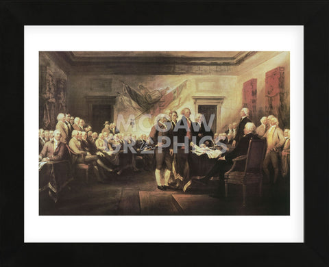 John Trumbull - The Declaration of Independence