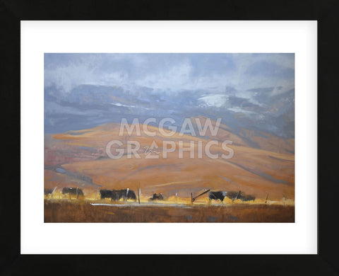 North Powder Cows (Framed) -  Todd Telander - McGaw Graphics