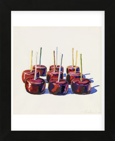Nine Jelly Apples, 1964 (Framed) -  Wayne Thiebaud - McGaw Graphics