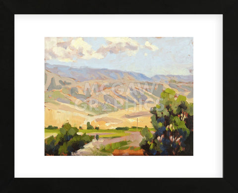 View from Amavi (Framed) -  Todd Telander - McGaw Graphics