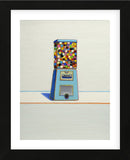 Blue Vendor, 1963 (Framed) -  Wayne Thiebaud - McGaw Graphics