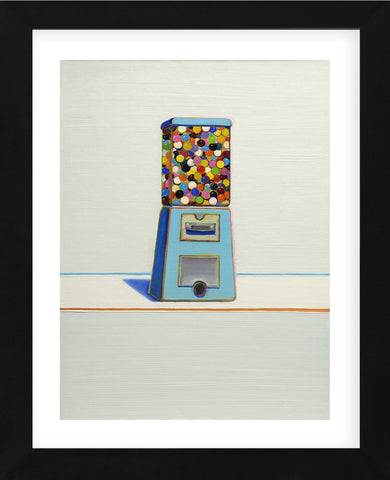 Wayne Thiebaud - Blue Vendor, 1963
