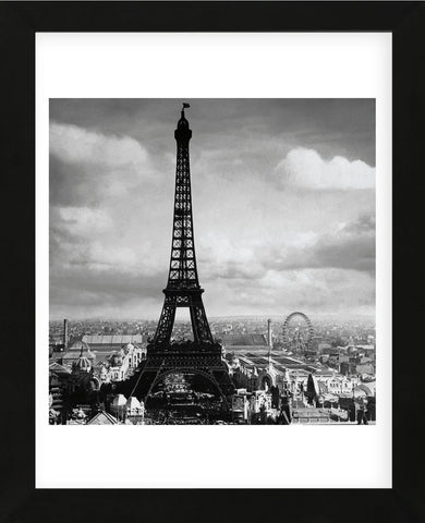 The Eiffel Tower, Paris France, 1897  (Framed) -  Jerry Tavin - McGaw Graphics