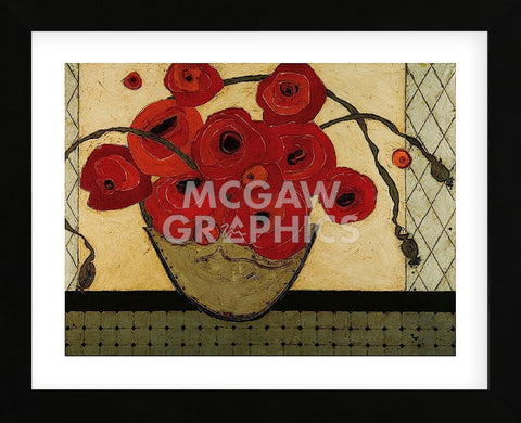 Poppies for the Host (Framed) -  Karen Tusinski - McGaw Graphics