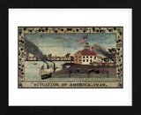 Situation of America, 1848 (Framed) -  Unknown Artist - McGaw Graphics