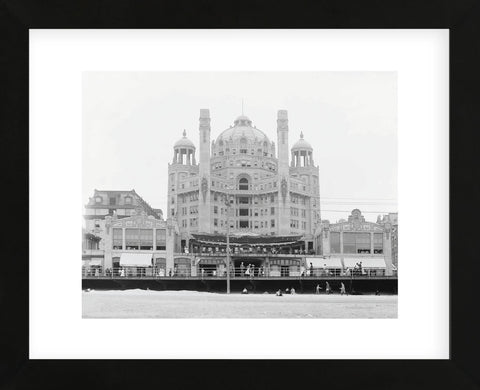 Vintage Photography - Atlantic City's Marlborough-Blenheim Hotel, ca. 1908