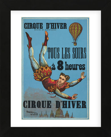Cirque d'hiver (Framed) -  Vintage Reproduction - McGaw Graphics