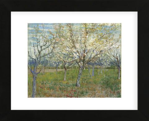 The Pink Orchard, 1888 (Framed) -  Vincent van Gogh - McGaw Graphics