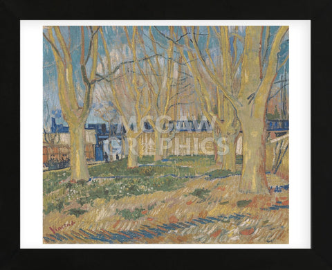 The Blue Train, 1888 (Framed) -  Vincent van Gogh - McGaw Graphics
