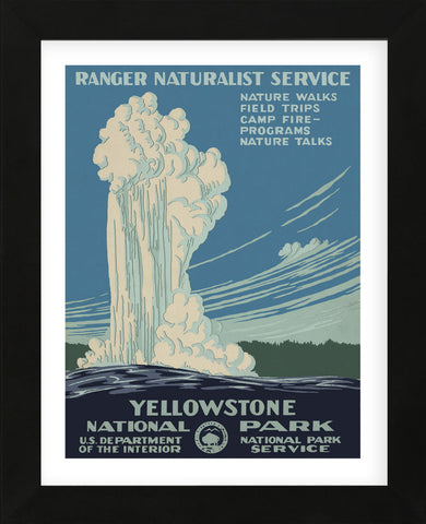 Vintage Reproduction - Yellowstone National Park
