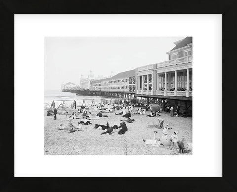 Steel Pier, Atlantic City, NJ, c. 1904 (Framed) -  Vintage Photography - McGaw Graphics