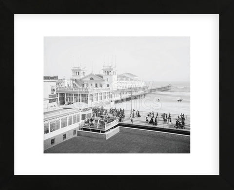 Steeplechase Pier, Atlantic City, NJ, c. 1905 (Framed) -  Vintage Photography - McGaw Graphics