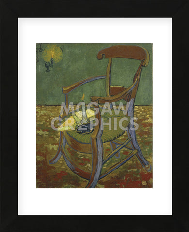 Gauguin's Chair, 1888 (Framed) -  Vincent van Gogh - McGaw Graphics