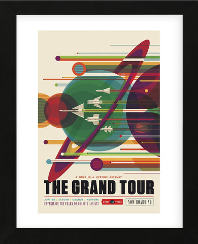 The Grand Tour (Framed) -  Vintage Reproduction - McGaw Graphics