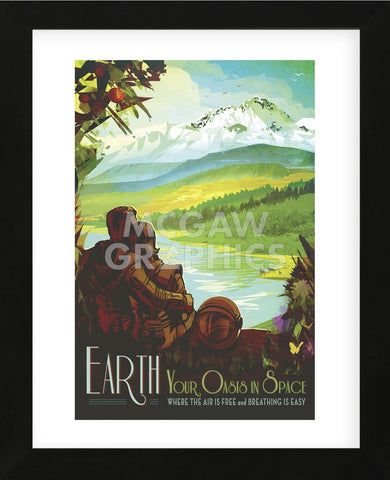 Vintage Reproduction - Earth