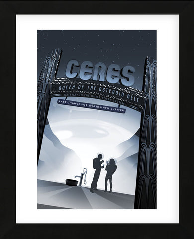 Ceres (Framed) -  Vintage Reproduction - McGaw Graphics