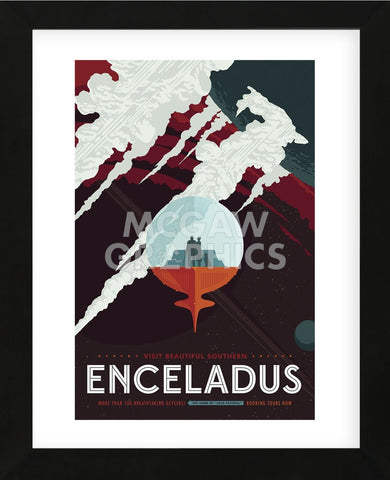 Vintage Reproduction - Enceladus