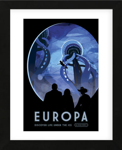 Europa (Framed) -  Vintage Reproduction - McGaw Graphics