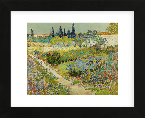 Garden at Arles, 1888 (Framed) -  Vincent van Gogh - McGaw Graphics