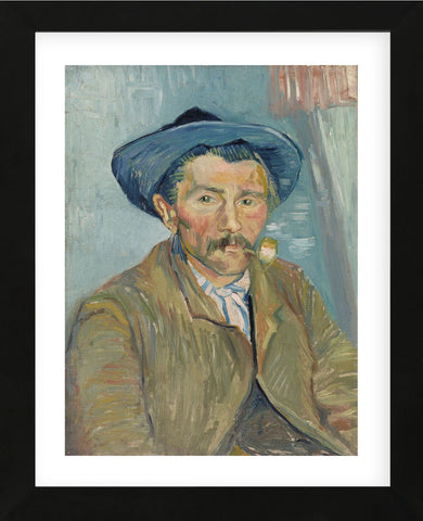 The Smoker (Le Fumeur), 1888 (Framed) -  Vincent van Gogh - McGaw Graphics