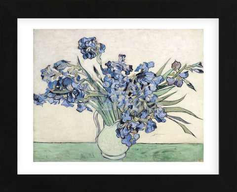 Irises  (Framed) -  Vincent van Gogh - McGaw Graphics