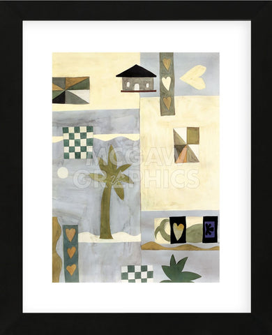 Checkerboard Travel II (Framed) -  Muriel Verger - McGaw Graphics