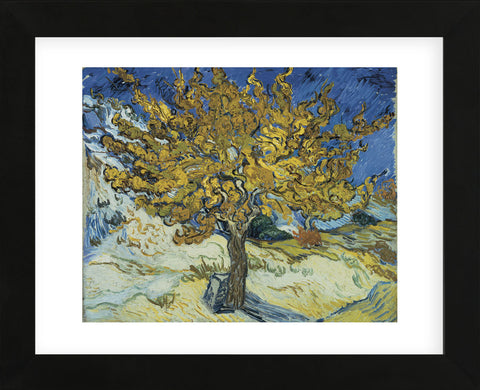 The Mulberry Tree, 1889  (Framed) -  Vincent van Gogh - McGaw Graphics
