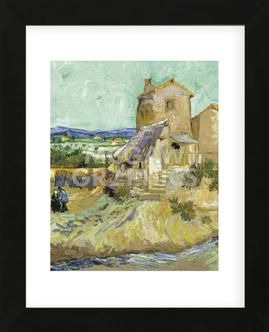 The Old Mill, 1888  (Framed) -  Vincent van Gogh - McGaw Graphics