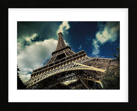 The Eiffel Tower (horizontal) (Framed) -  Mark Verlijsdonk - McGaw Graphics