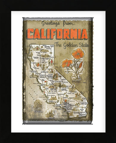 Vintage Vacation - Greetings from California