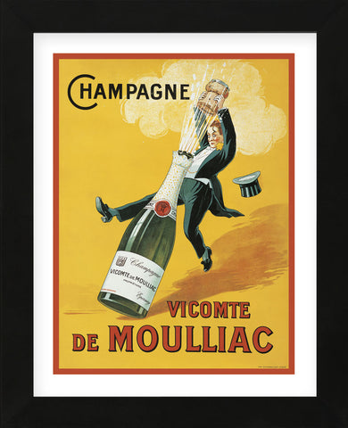 Vicomte de Moulliac (Framed) -  Vintage Posters - McGaw Graphics
